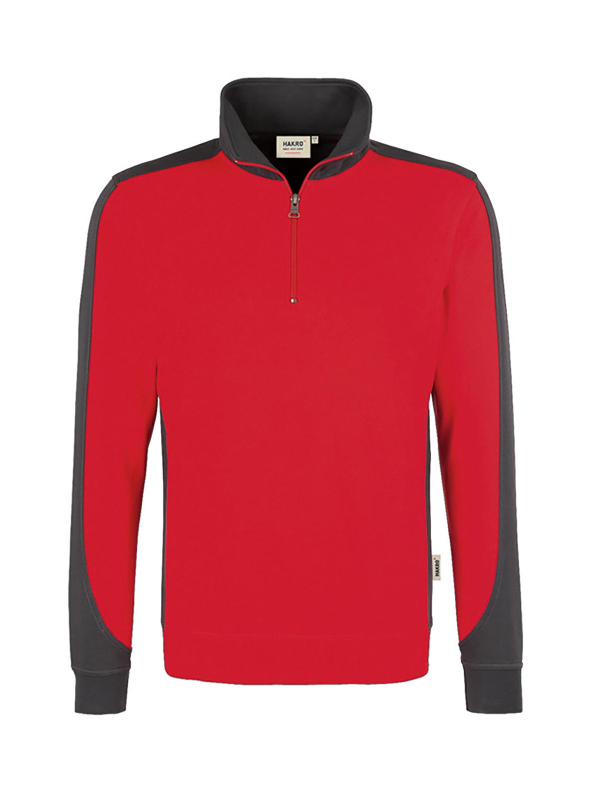 Sweatshirt Zip Contrast