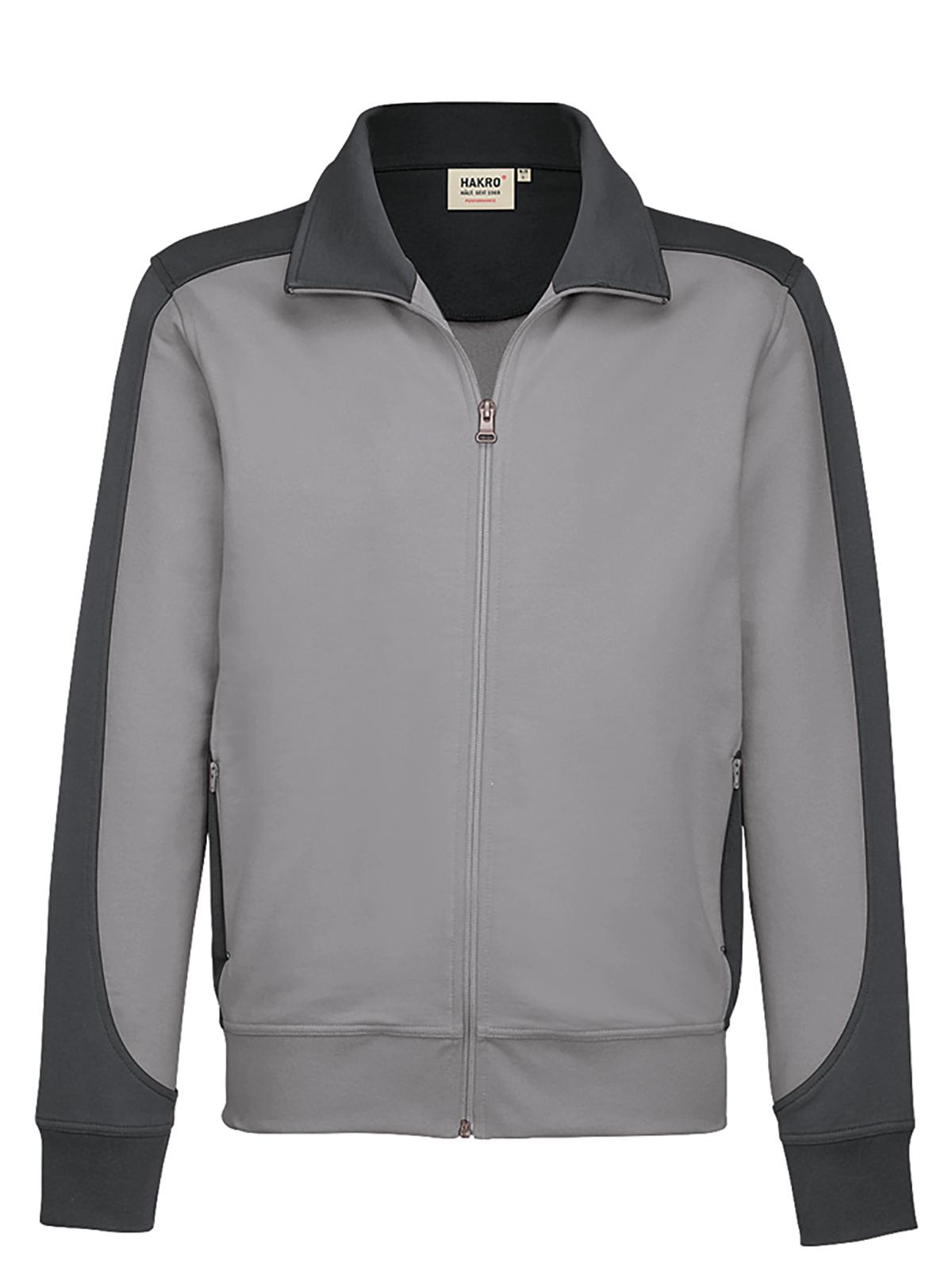 Sweatshirt-Jacke Contrast