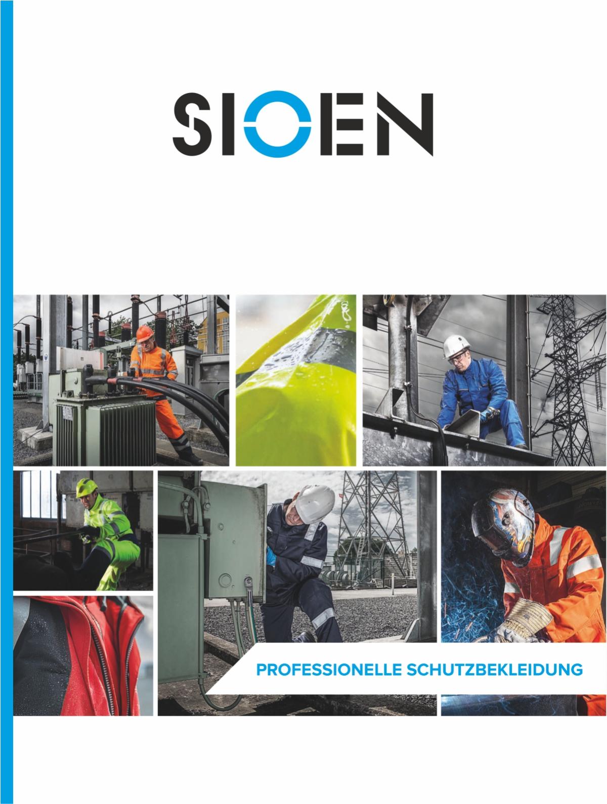 Sioen EN ISO 20471 Katalog