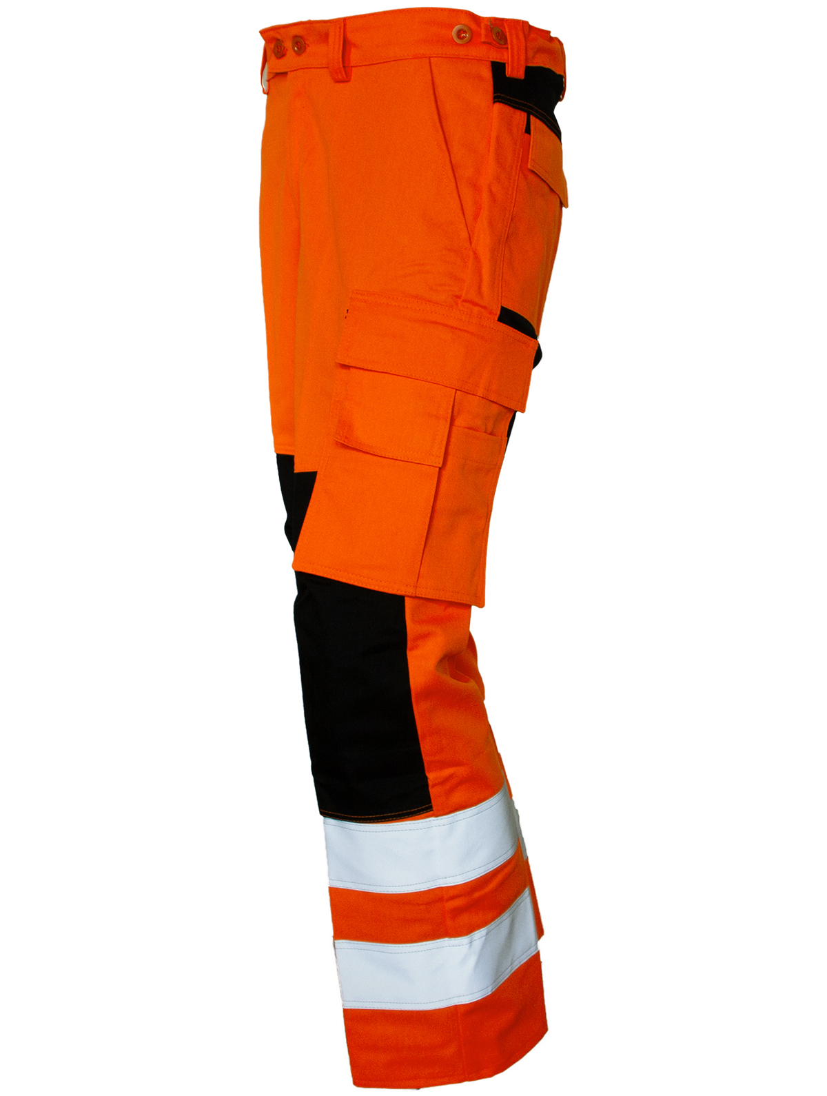 Warnbundhose Bi-Flex EN ISO 20471