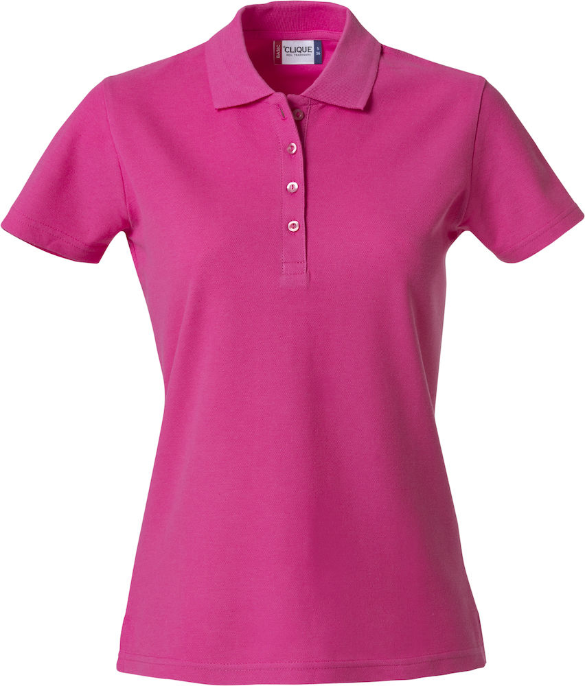 Poloshirt Basic Damen