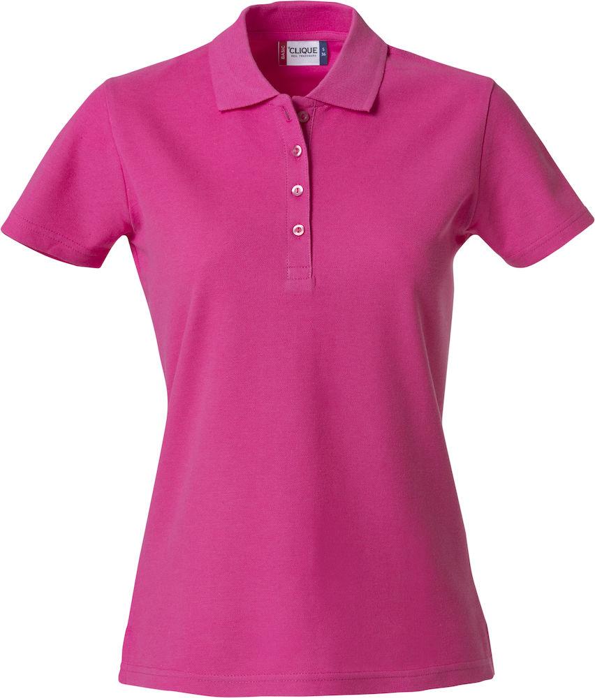 Poloshirt Basic Damen