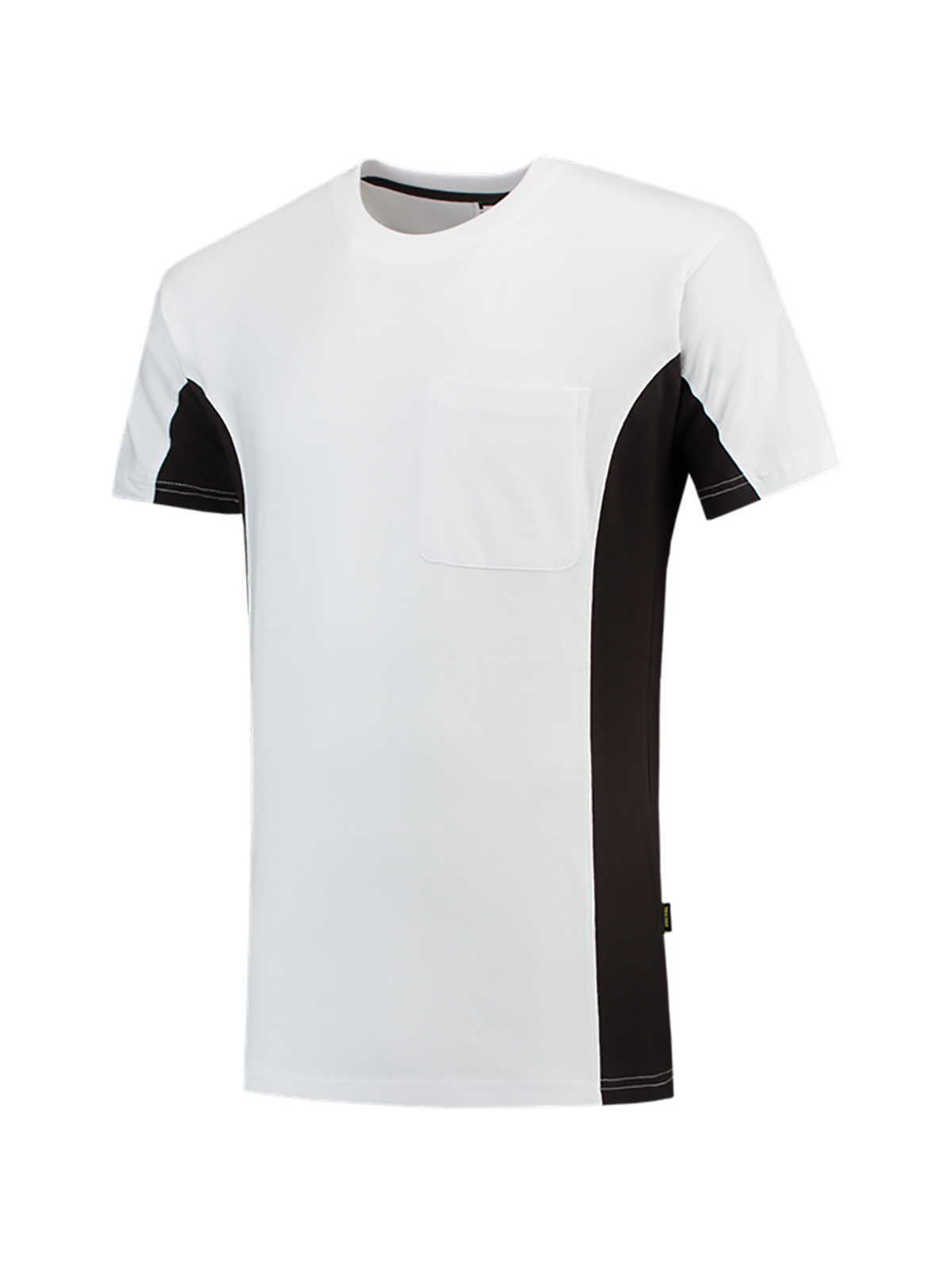 T-Shirt BICOLOR Brusttasche